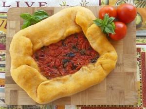 Pane con pomodoro - Ricetta sarda