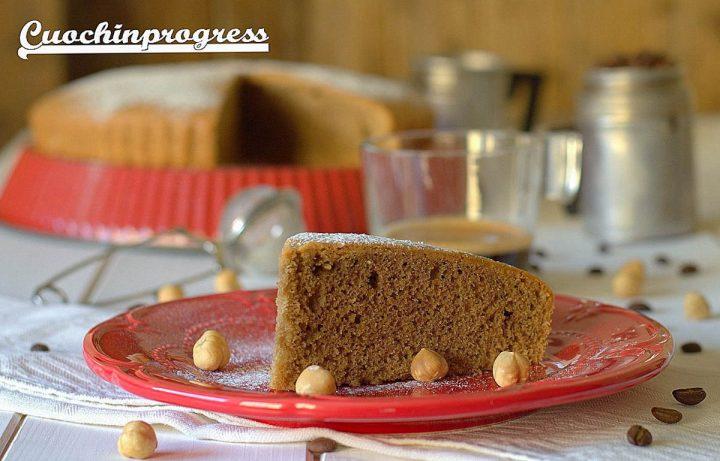 torta caffè e nocciole