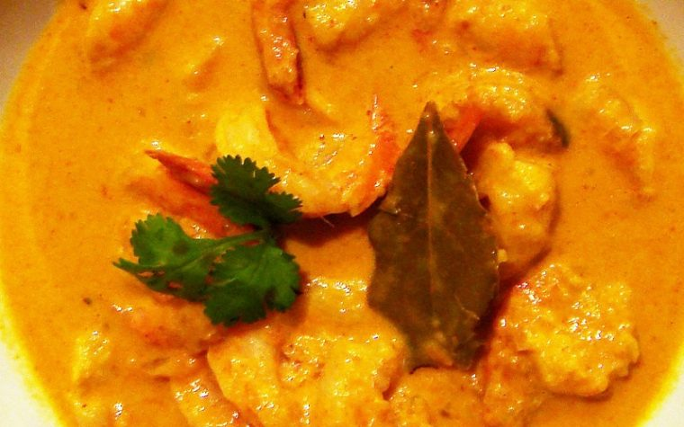 Curry di Gamberi