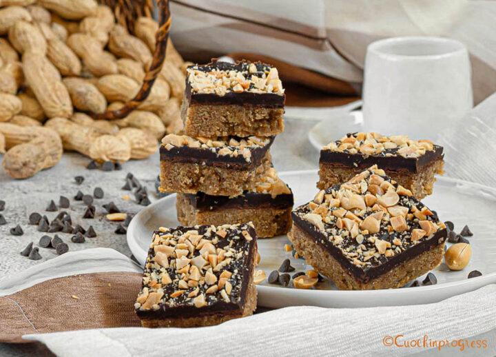 barrette burro di arachidi e cioccolato