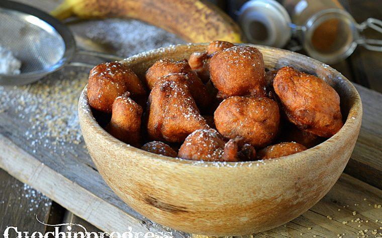 Gulgula, dolcetti Indiani alle banane
