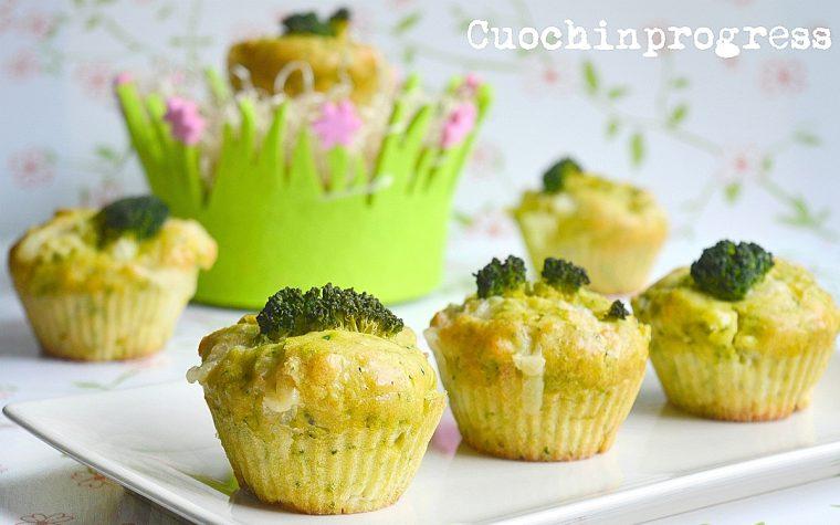 Muffin broccolo e raschera