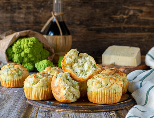 Muffin broccolo e raschera