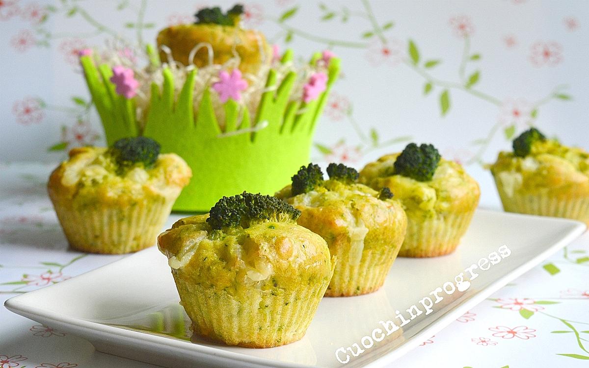 muffin broccolo