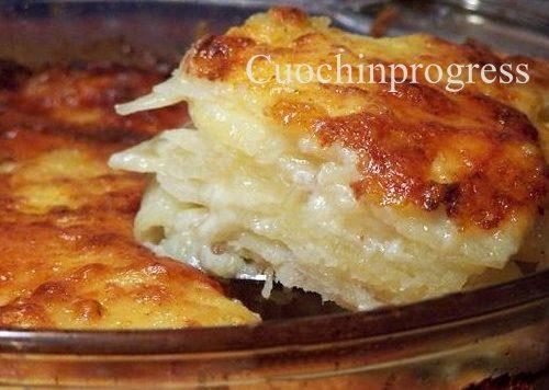 Tortino patate e fontina