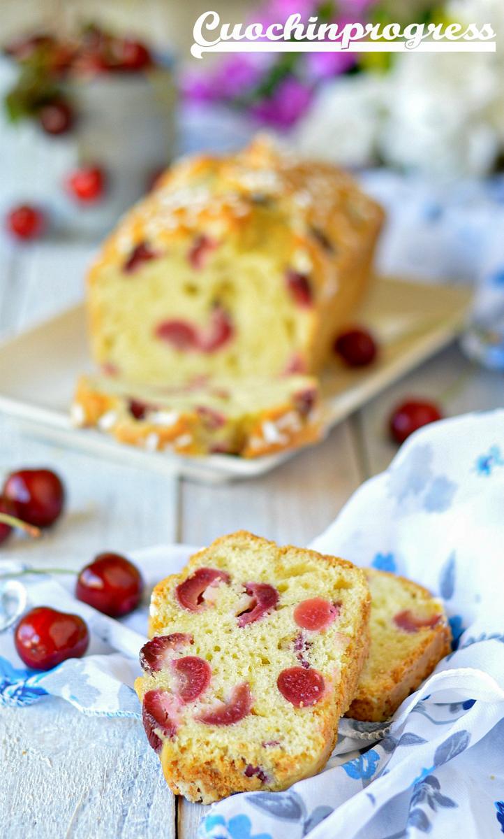 plumcake alle ciliegie