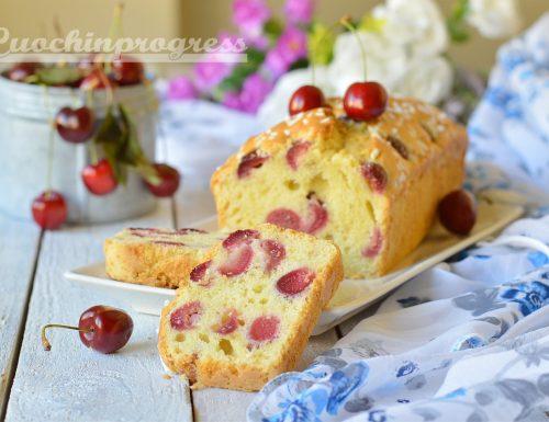 Plumcake con ciliegie di Vignola