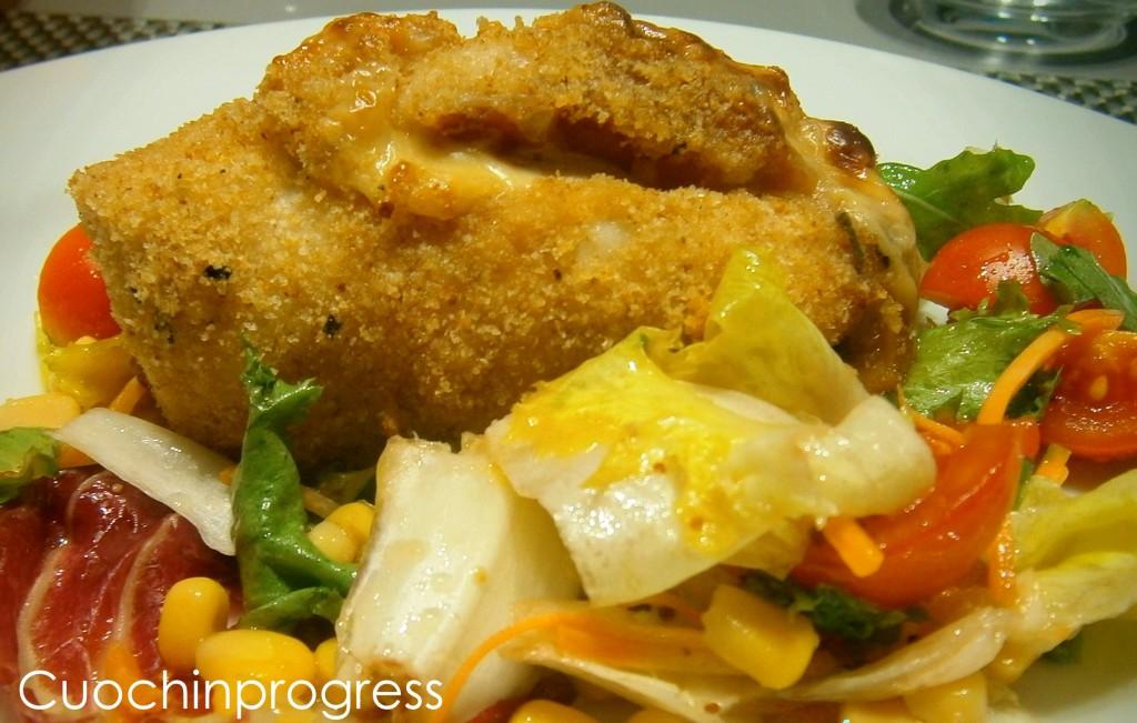 Involtini di pollo e melanzane