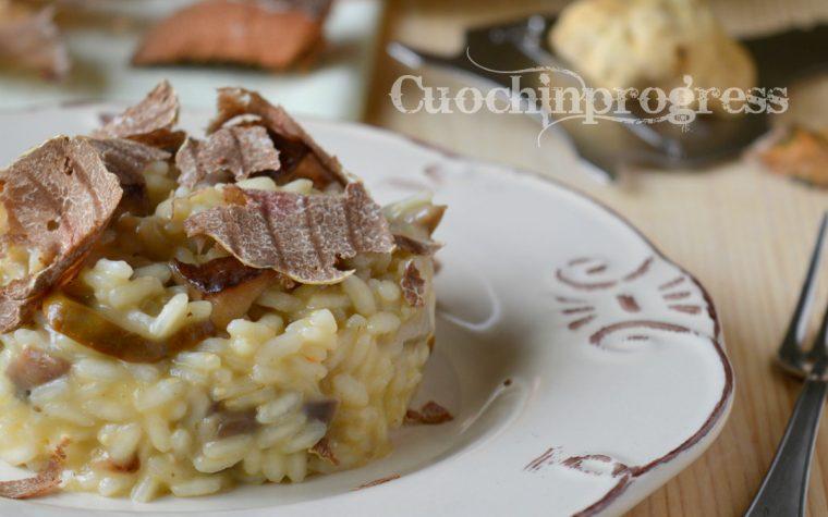 Risotto funghi porcini e tartufo d' Alba