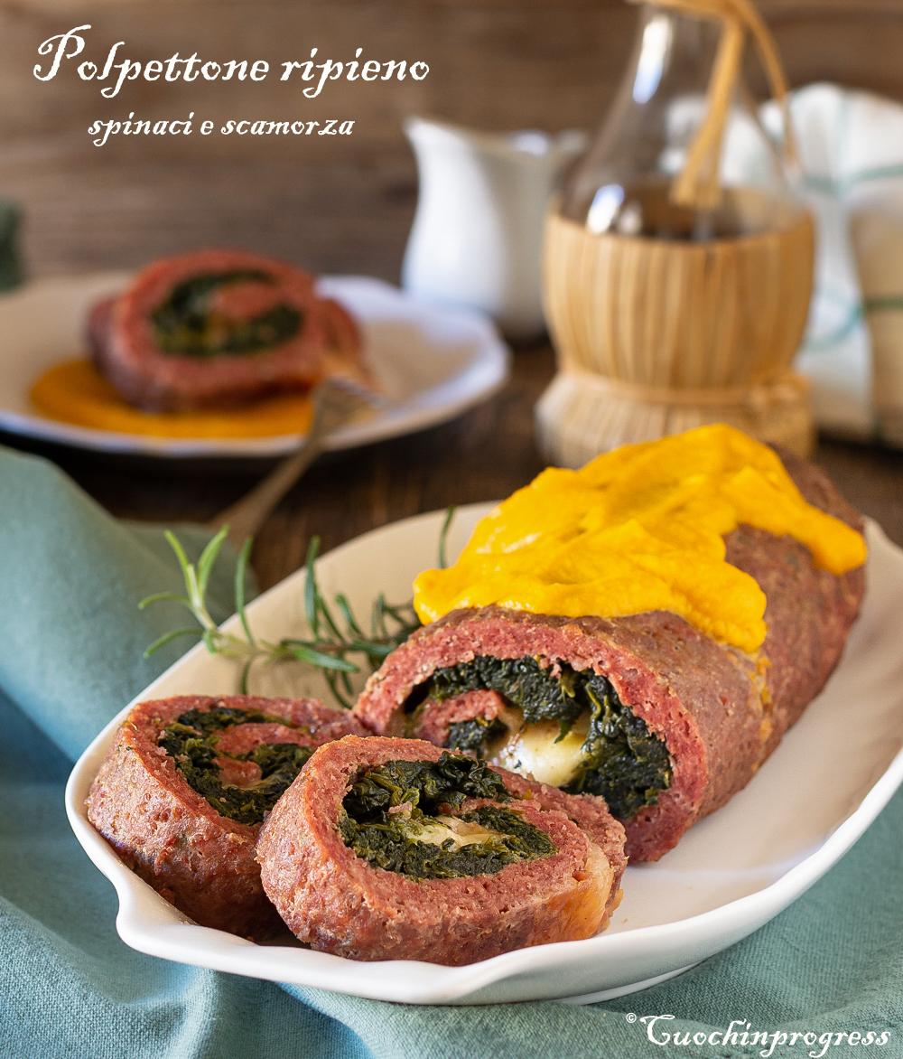 polpettone ripieno spinaci