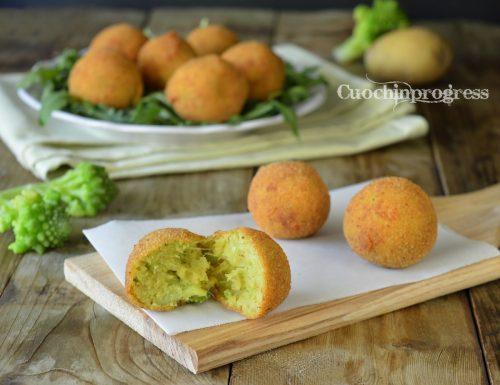 Polpette di broccolo romanesco e patate