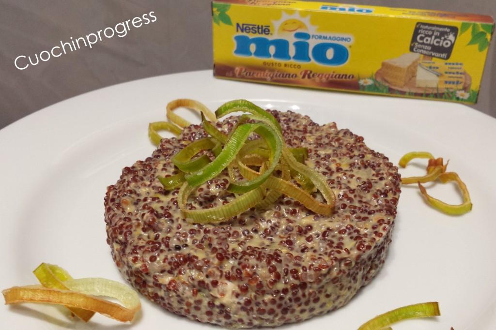 quinoa risottata