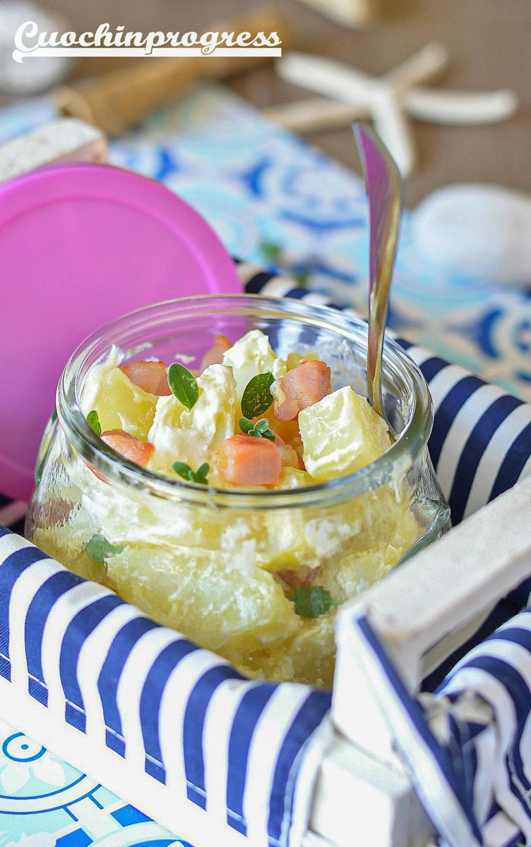 insalata fredda di patate
