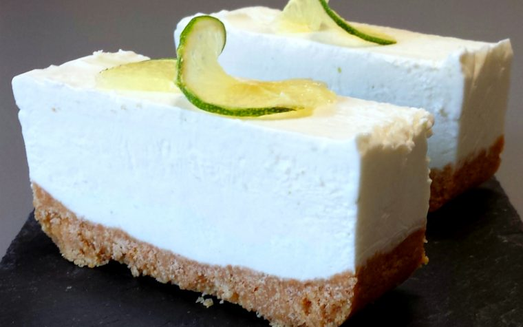 Cheesecake fredda al lime