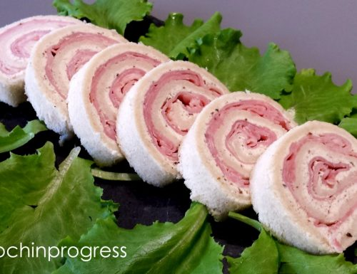 Girelle salate robiola e prosciutto