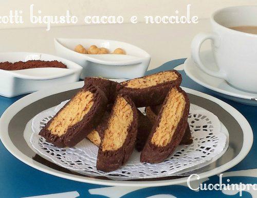 Biscotti bigusto cacao e nocciole