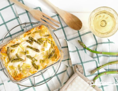 Lasagne asparagi e porchetta