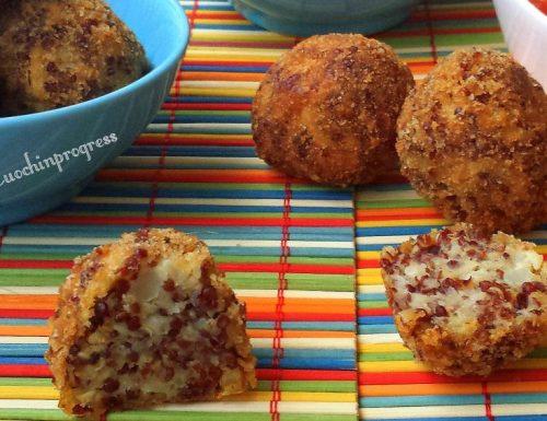 Bonbon quinoa e cavolfiore