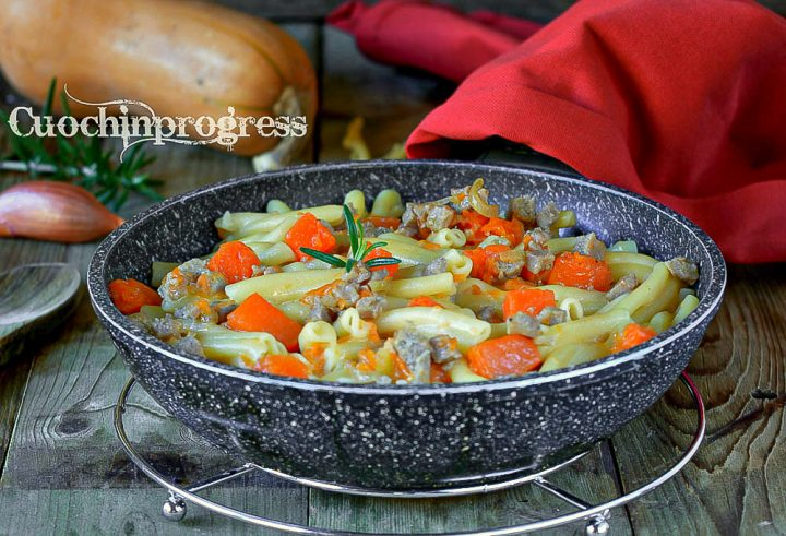 caserecce salsiccia zucca