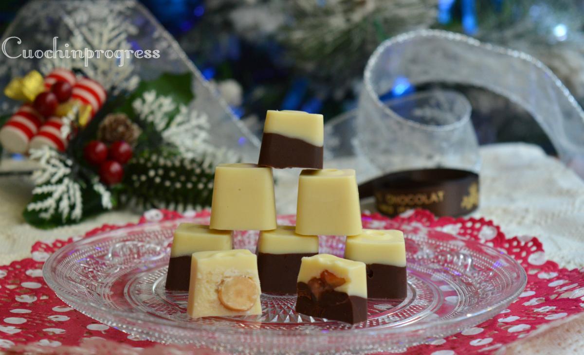 Cioccolatini ripieni fatti in casa