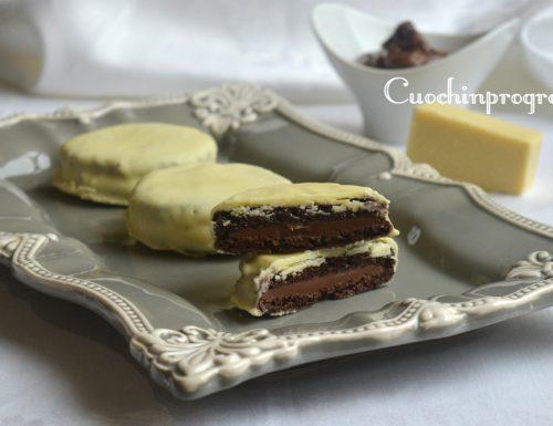 Merendine golose con Nutella e cioccolato bianco