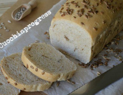 Pan bauletto ai semi di girasole