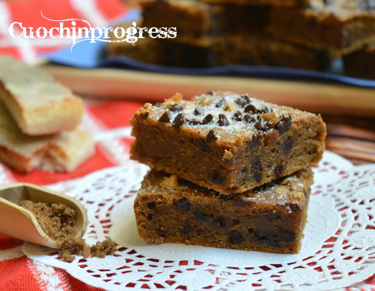 Torta rustica di pane e cioccolato