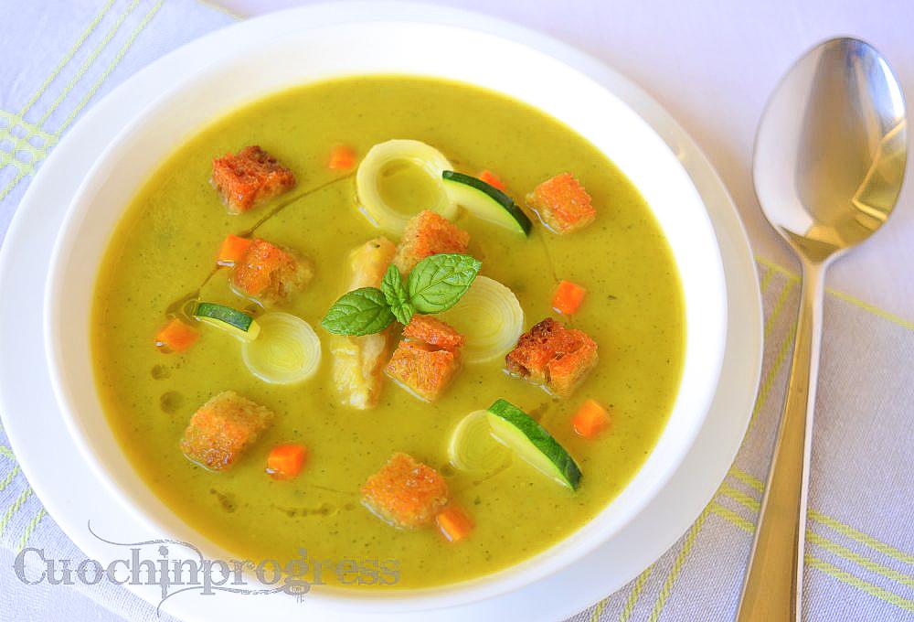 vellutata di zucchine