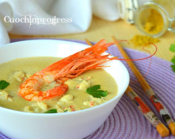 Ricetta Zuppa Thai Con Gamberi.Zuppa Di Gamberoni Al Cocco Ricetta Thai Semplice E Gustosissima