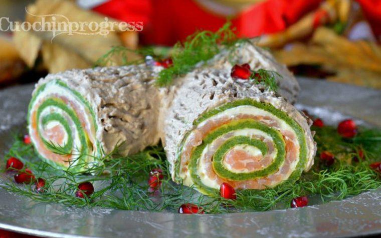 Tronchetto salato di Natale