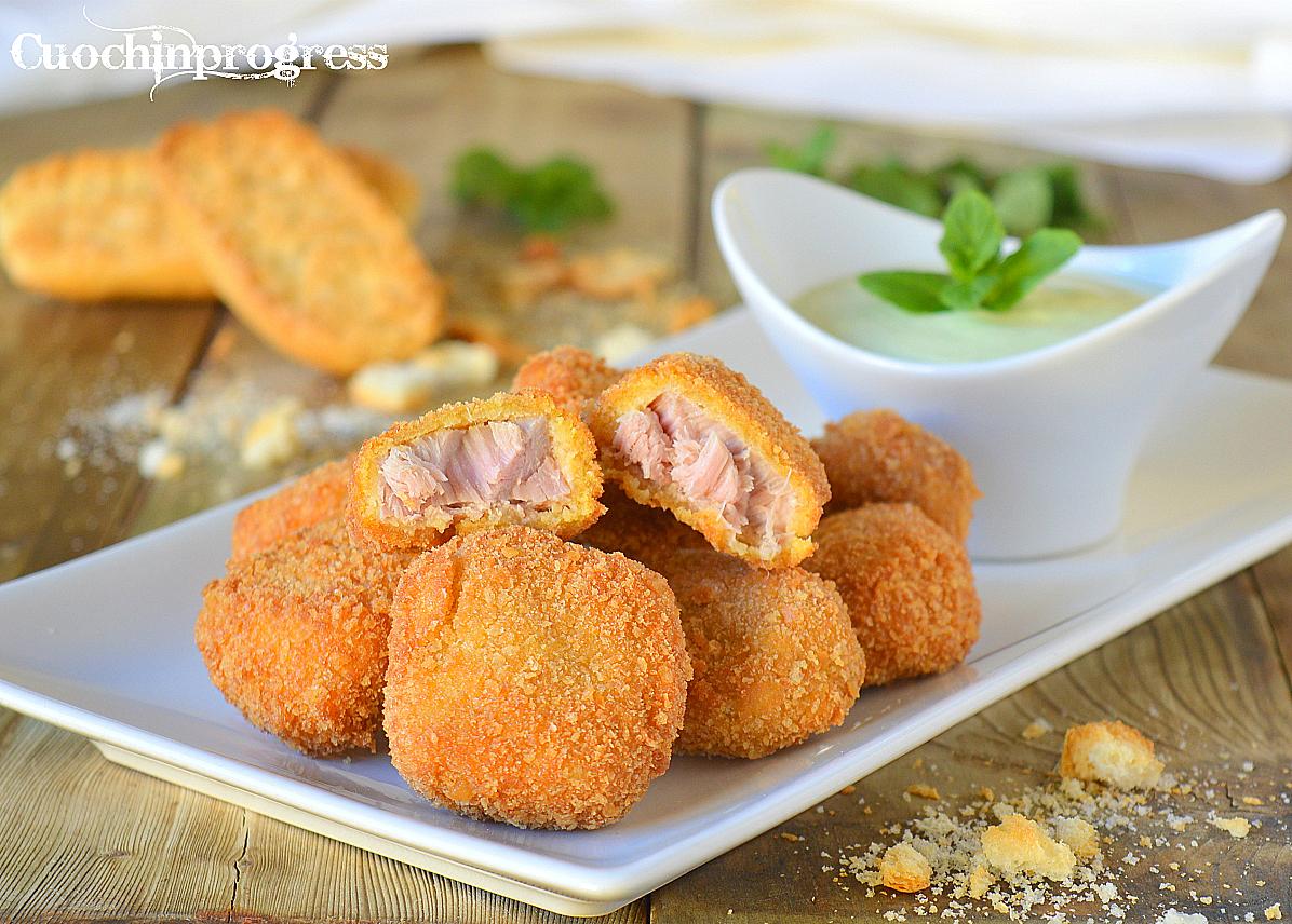 nuggets di tonno