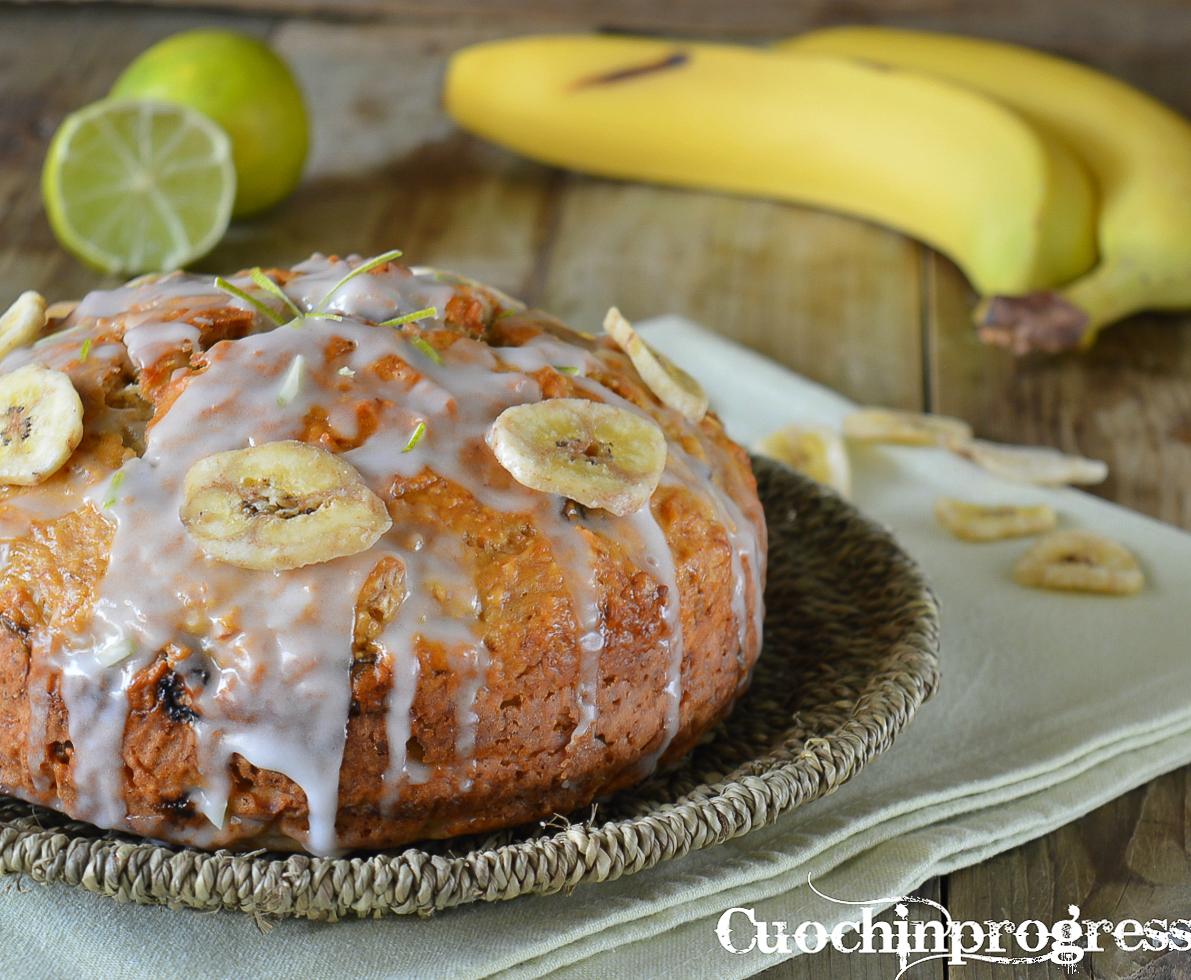 torta di banane e lime