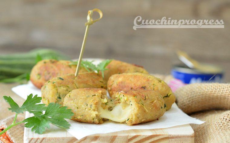 Crocchette di tonno e zucchine