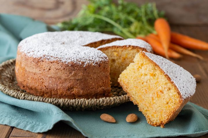 torta di carote e mandorle