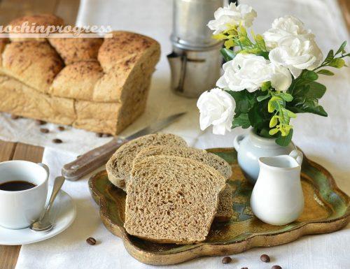 Pan brioche al caffè