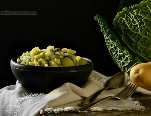 Risotto verza e patate