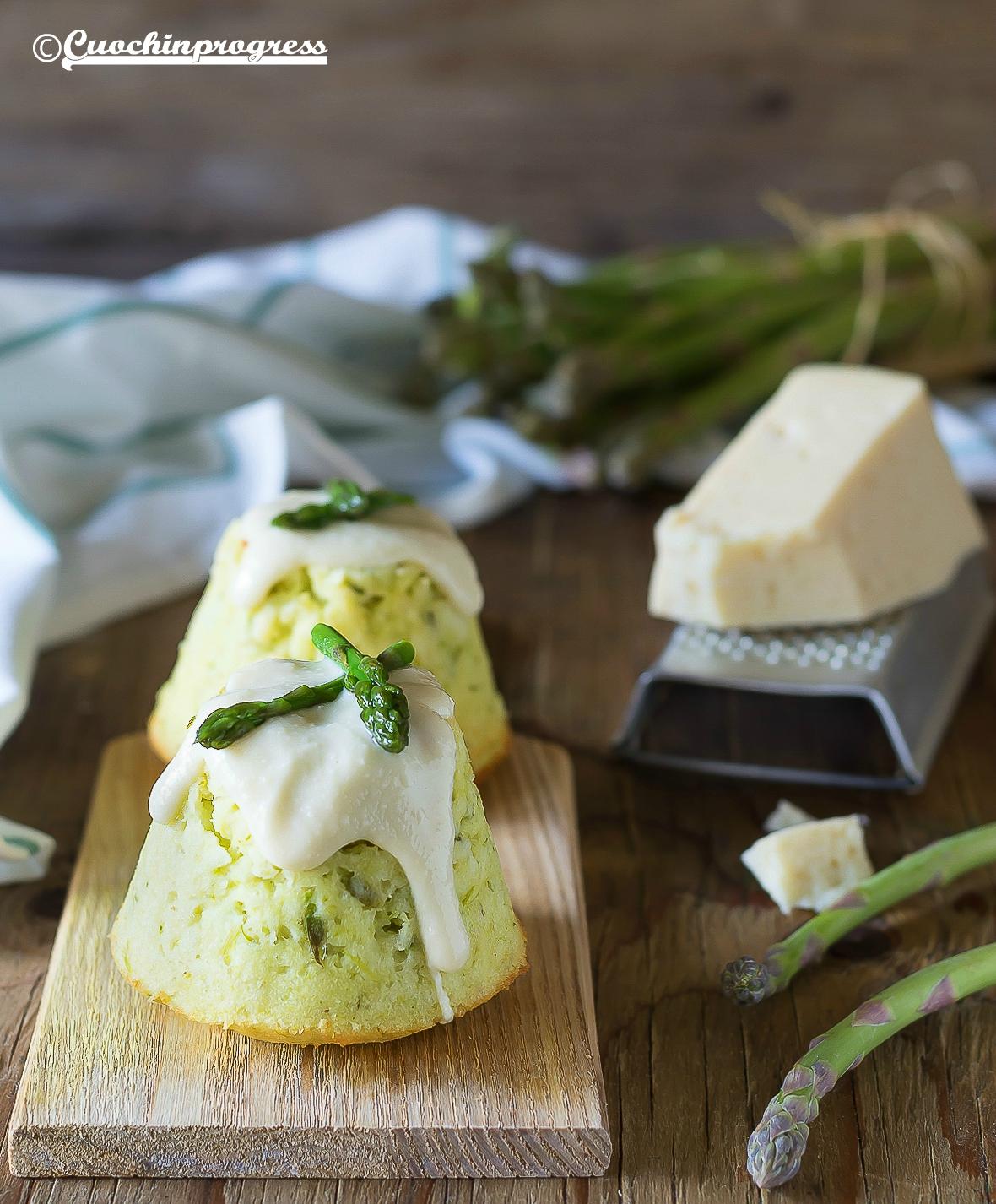 sformatini di asparagi