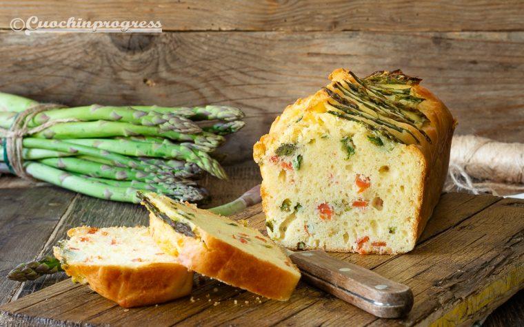 Plumcake asparagi e salmone