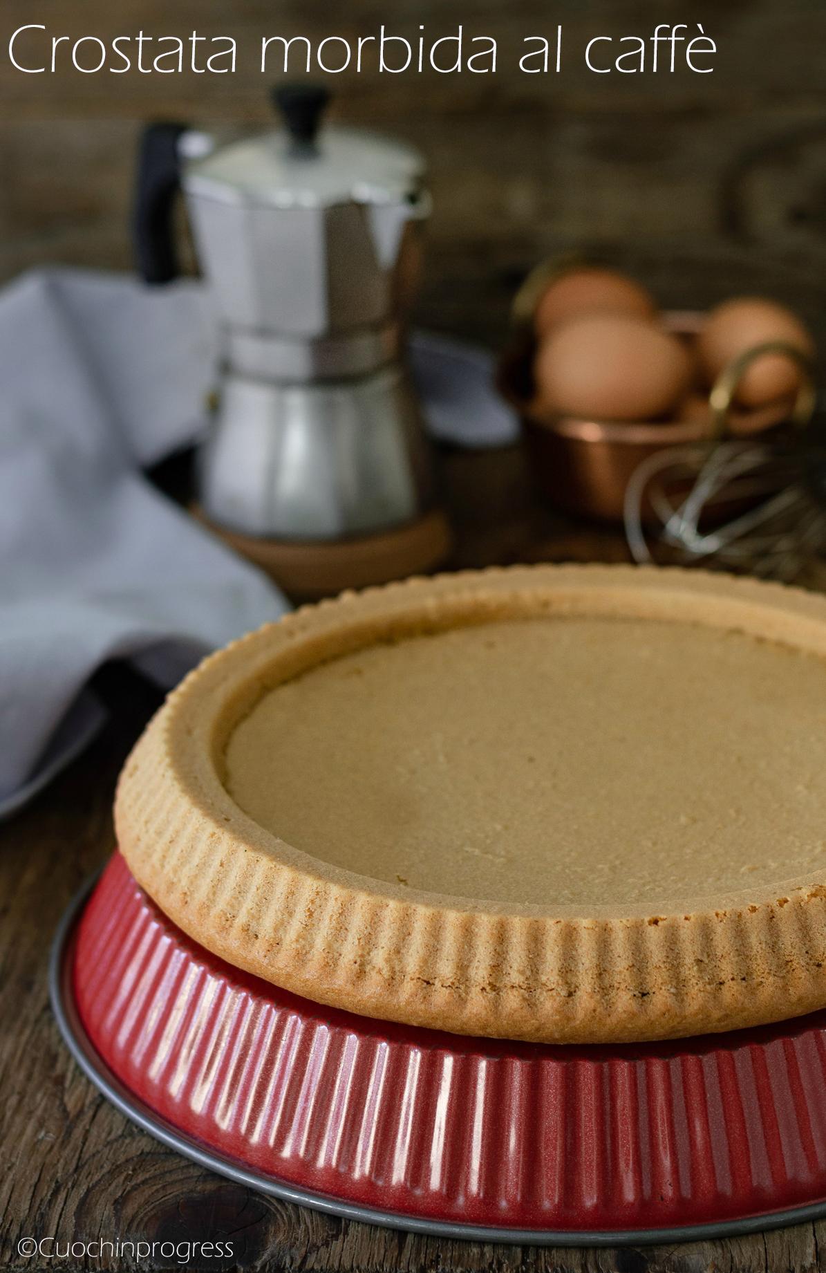 crostata morbida al caffè