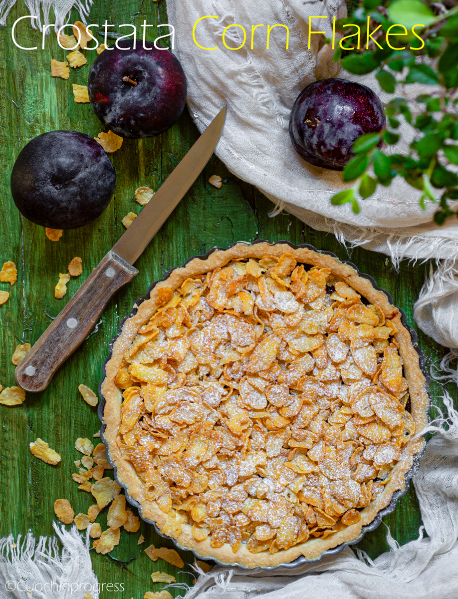 crostata corn flakes