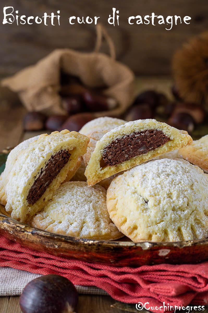 biscotti cuor di castagne