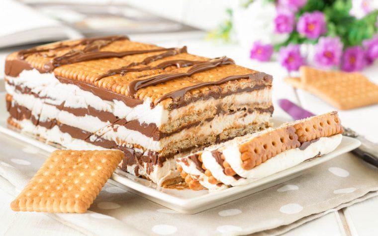Lingotto di biscotti mascarpone e Nutella