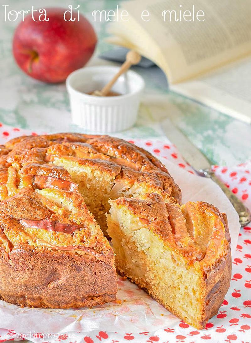 torta di mele e miele