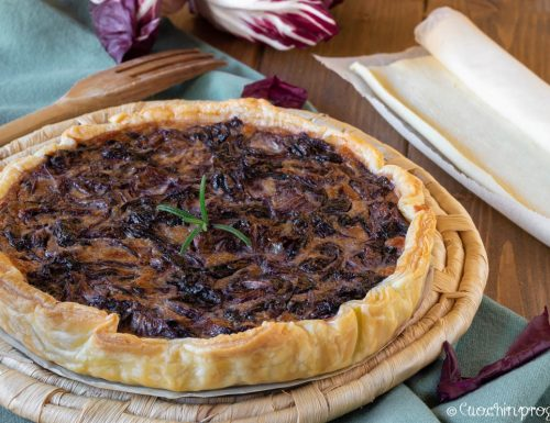 Sfoglia radicchio e gorgonzola