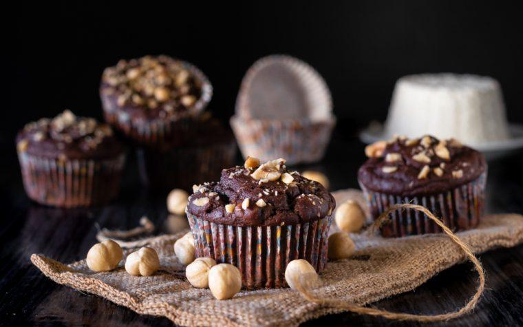 Ricottine nocciole e cioccolato