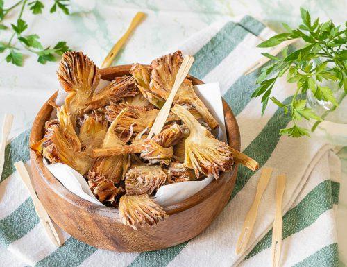 Carciofi fritti