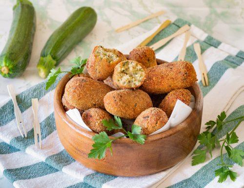 Crocchette di zucchine alla menta