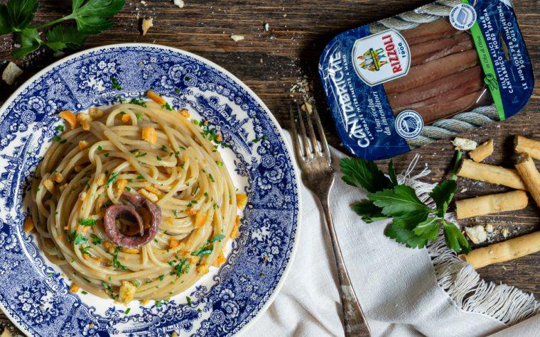 Spaghetti burro e alici