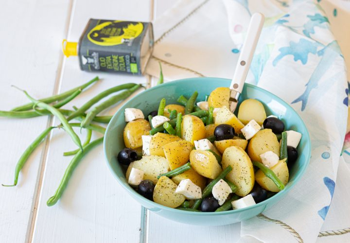 insalata di patate fagiolini