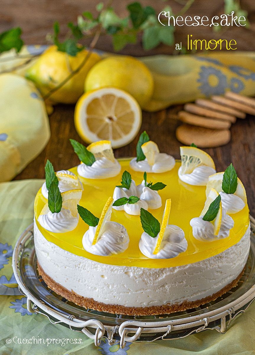 cheesecale al limone